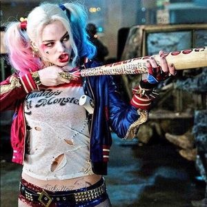 Harley Quinn Suicide Squad Costume Top Cosplay